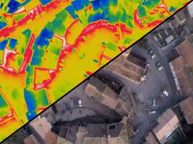 Formation à la thermographie par drone aérien